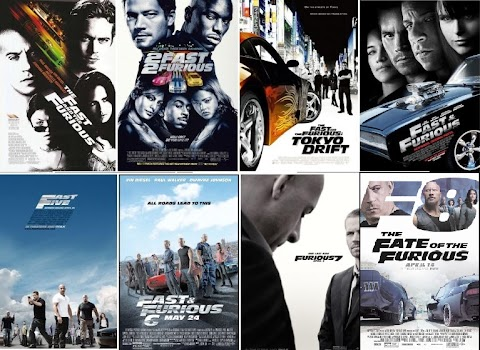 List Of Fast And Furious Movies