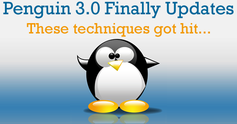Penguin 3.0 Finally Updates - Google Hits Homepages, Affiliates & 301 Redirect Spam - The SEM Post