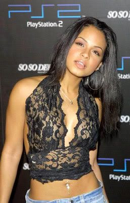 I want Christina Milian even MORE.