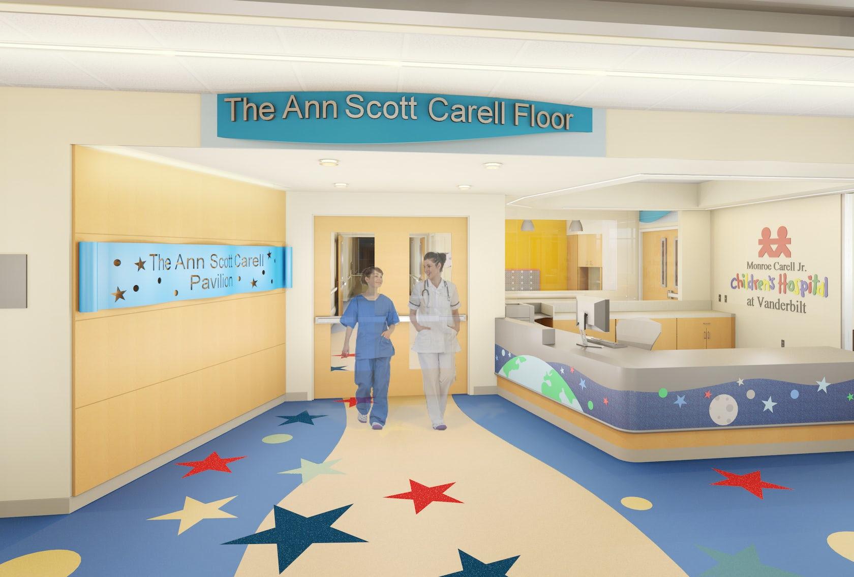 Monroe Carell Jr Children S Hospital At Vanderbilt On Architizer