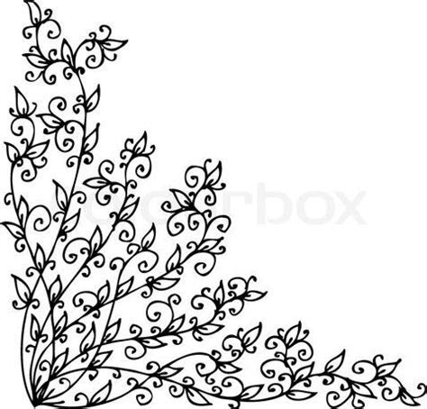 Ornate scroll #vines #embroidery. Expand a bit to use as