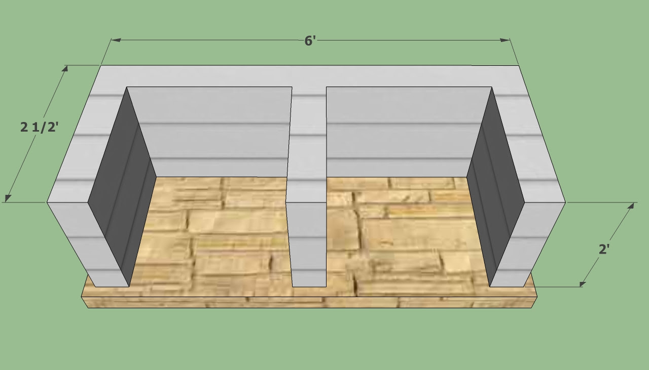 how to build a bbq house