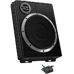 """NEW SOUNDSTORM LOPRO10 10"""" 1200W Car Audio Slim Under Seat Powered Subwoofer Sub by VM Express"""