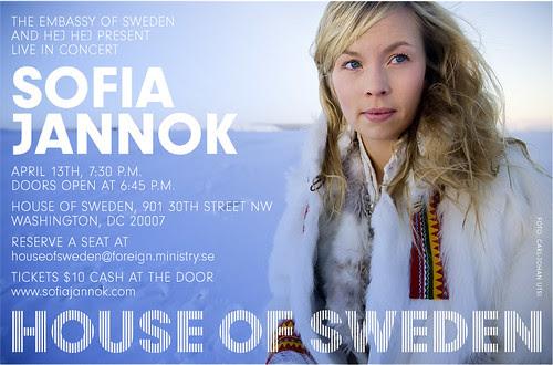 Sofia Jannok @ House of Sweden