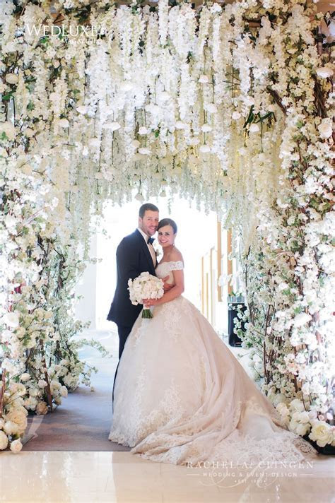 A Stunning All White Wedding At The Ritz Carlton Toronto