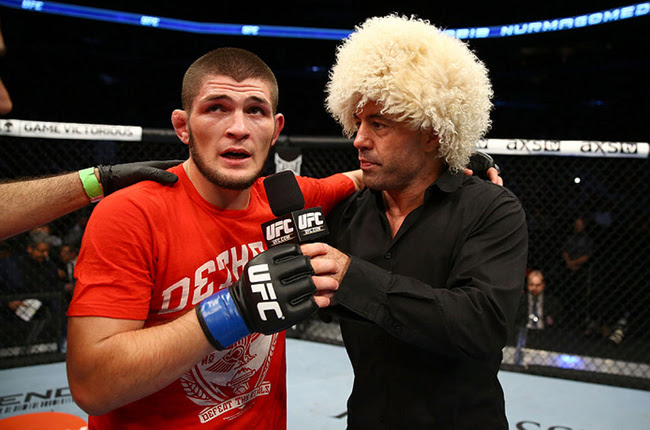 「Khabib Nurmagomedov and His Papakha」の画像検索結果