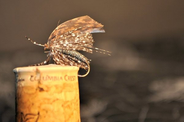 Vintage Dry Fly Fishing Lure - Wudumaer