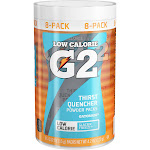 Gatorade G2 Powder Packs, Glacier Freeze - 8 pack, 4.2 oz canister