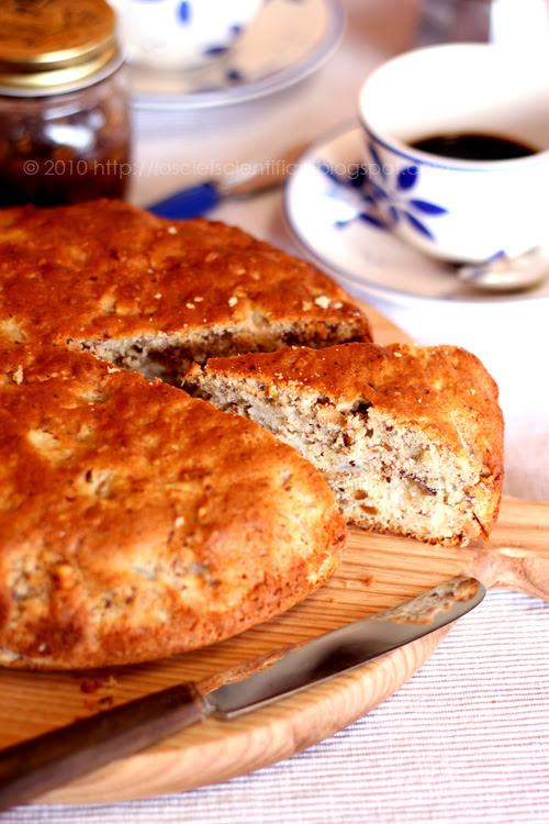 Hazelnut & Pear Country Cake