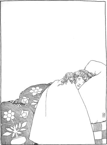 Dibujo De La Princesa Sufriendo A Través De Una Noche Sin Dormir