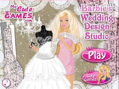 Barbie Video   Barbie Wedding Dress Up Games   YouTube