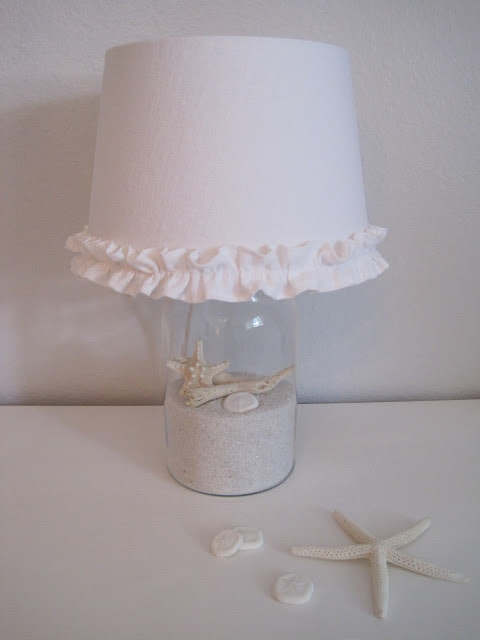 beach cottage lamp (via beautifulnest)