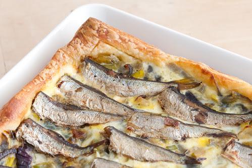 Frieda sibula-sprotipirukas / Onion and sprat tart