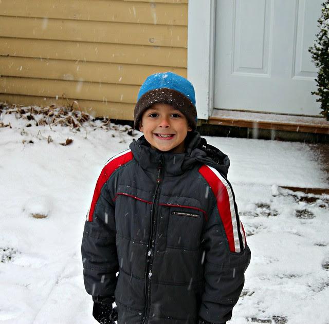 Jacob -- first snow