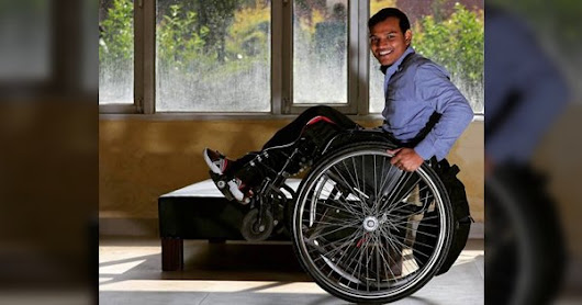 How You Can Send India's Fastest Wheelchair Half-Marathoner To Tokyo Paralympics 2020