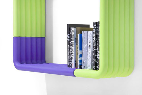 Innovative Bookshelves Design by B-LINE - Liquorice