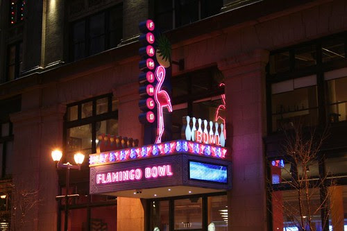 Washington Avenue neon