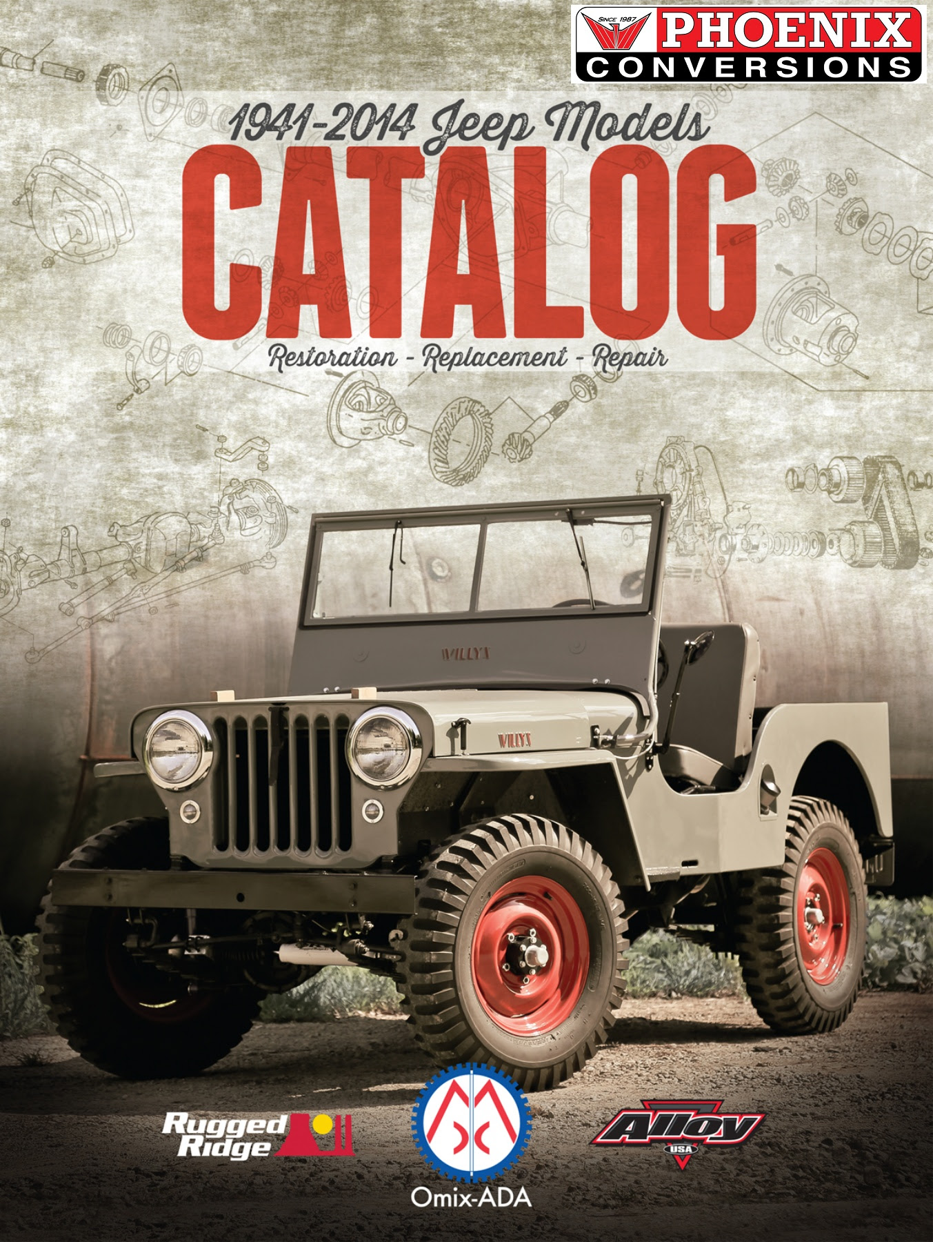 Classic Jeep Parts : classic, parts, Jeep:, Classic, Parts, Catalog