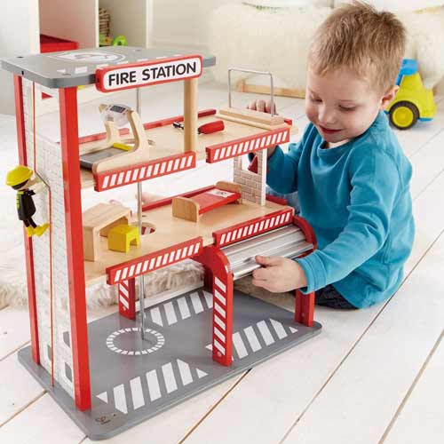 Playscapes Fire Station