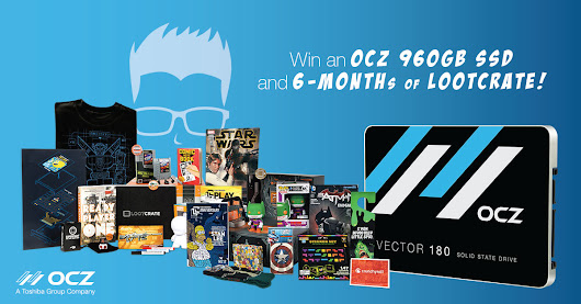 "OCZ ""Embrace Your Geekness"" Giveaway!"
