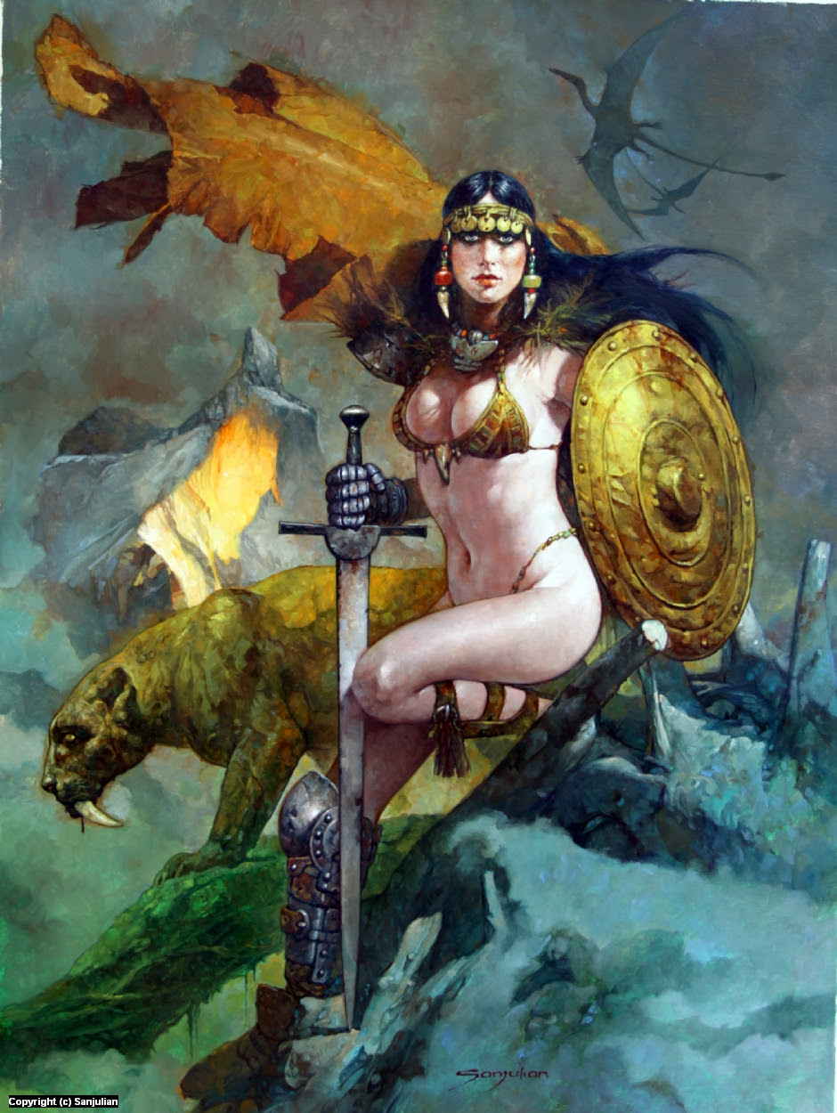 Warrior Artwork by Manuel Sanjulian