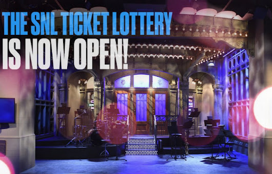 You Can Now Enter The Lottery To Win Free 'Saturday Night Live' Tickets