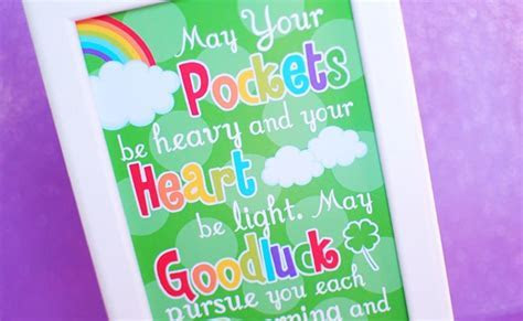 Free St. Patrick's Day Printable Sign   Pretty My Party