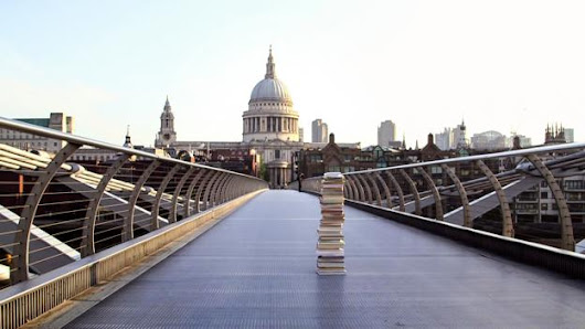 If you find a pile of books on a bridge, this is why