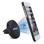 Mpow Grip Pro 2 Universal CD Slot 360 Degree Rotation/ Air Vent Magnetic Car Mount (Mpow CD Slot Car mount-black)