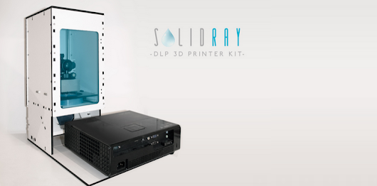 Kitprinter3d Unveils Affordable SolidRay SLA-DLP 3D Printer Kit