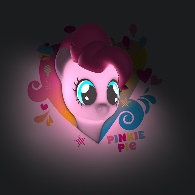 My little Pony, Pinkie Pie, 3D deco lights, holiday gift guide, US Family Guide