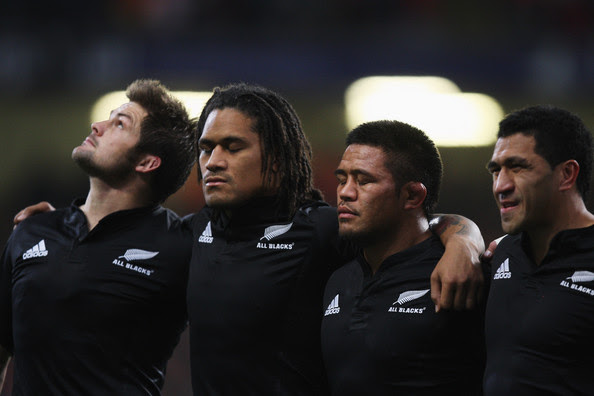all blacks singing national anthem