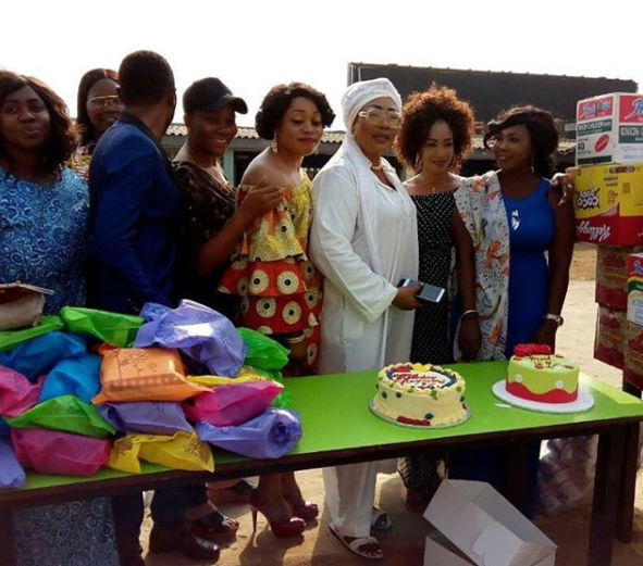 Eucharia Anuobi Shocks Friends Again As She Celebrates Late Son's Birthday at 16