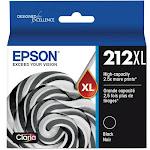 Epson 212XL Ink Cartridge, Black - 1-pack