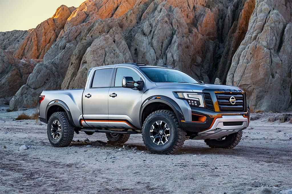 Nissan Pushes the Boundaries with Titan Warrior Concept ...