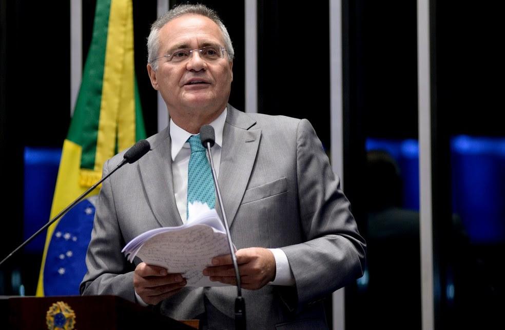 O senador Renan Calheiros (PMDB-AL) (Foto: Jefferson Rudy/Agência Senado)