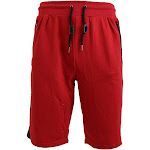 Men's French Terry Shorts With Zipper Pockets And