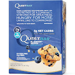 Quest Nutrition Quest Protein Bars, Blueberry Muffin - 12 count, 2.1 oz each