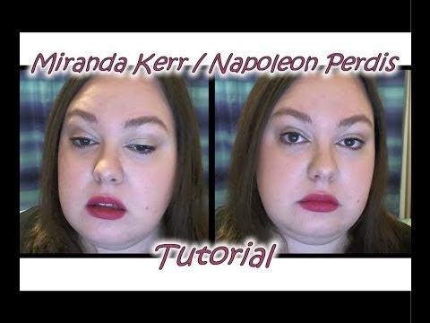 Miranda Kerr / Napoleon Perdis Tutorial
