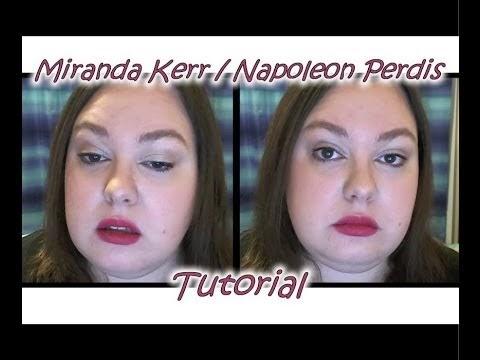 Miranda Kerr / Napoleon Perdis Tutorial - (Nose) At The Ready