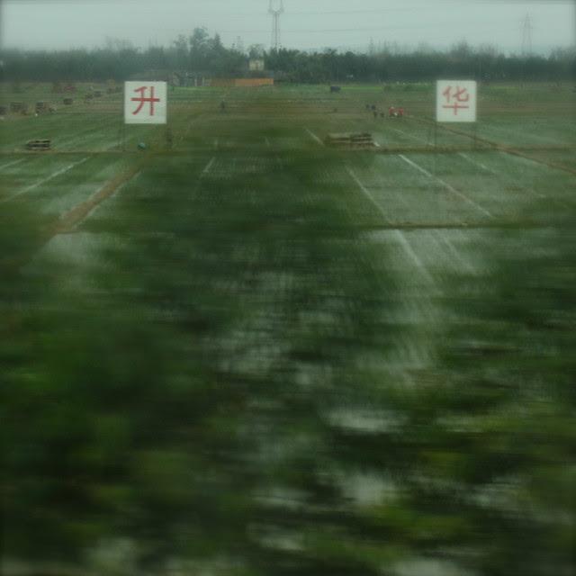 On the road, Chengdu-Emei