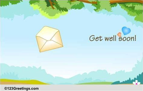 A Nice Get Well Soon Message! Free Get Well Soon eCards