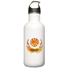Fire Chiefs Stainless Water Bottle 1.0L