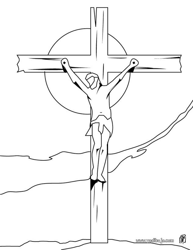 Resultado de imagen de cruz en dibujo