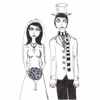 The Creepy Wedding Acrylic Cut Outs