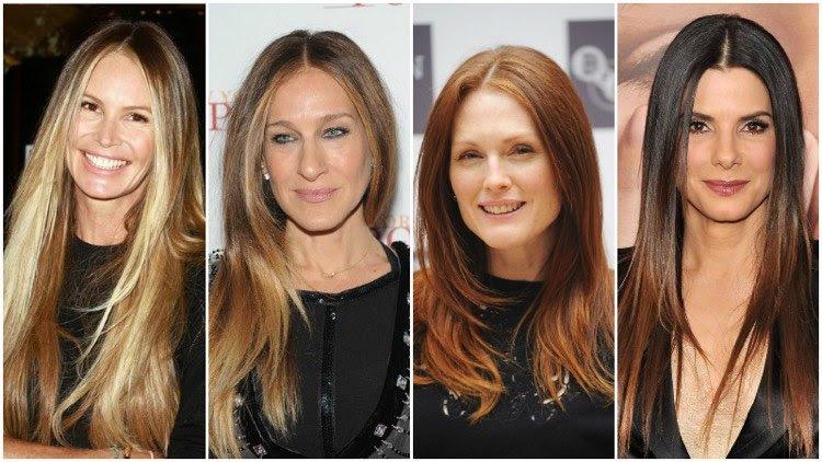 Lange Haare Frisuren Ab 50