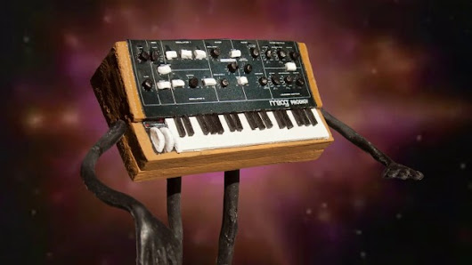 A Synthesizer for Christmas, A Festive Stop Motion Music Video by Hyperbubble