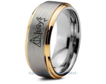 Harry Potter Ring Harry Potter Always Mens by