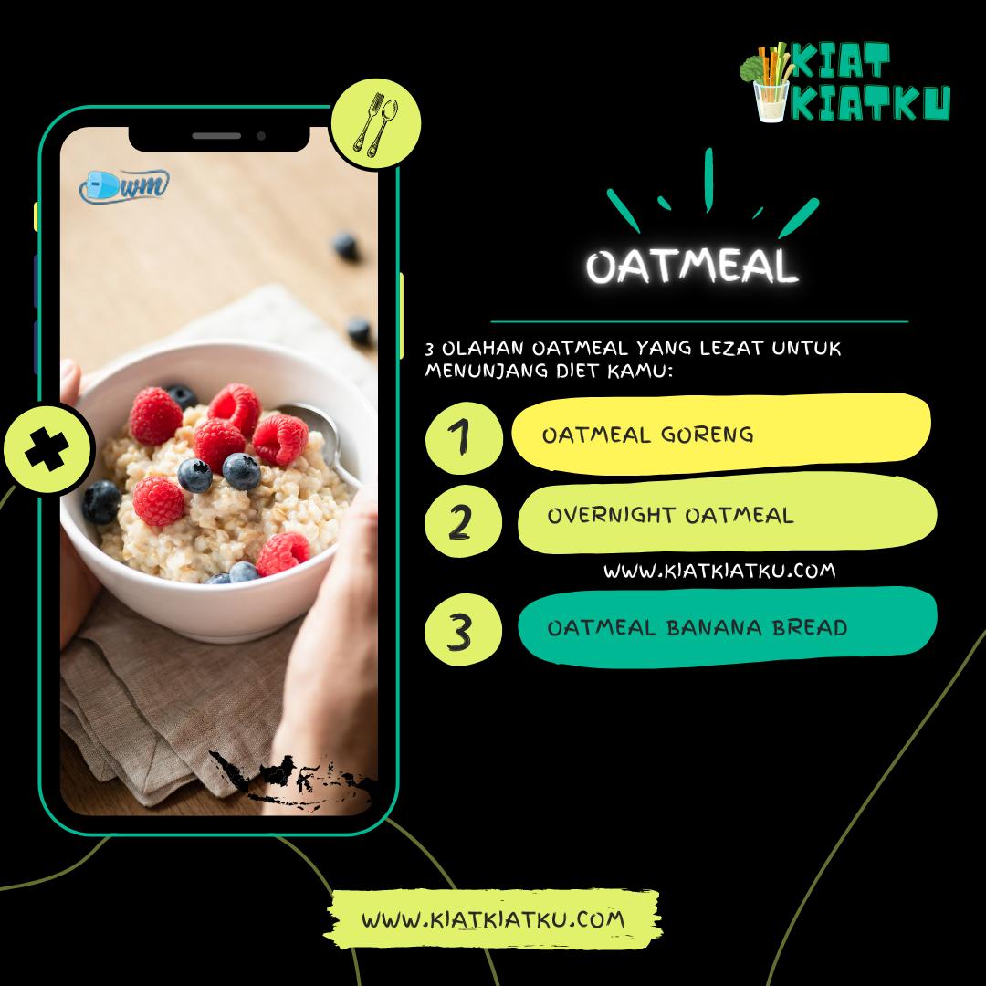 Olahan oatmeal