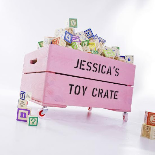 Review: Fantastic Kids Gift - Personalized Crates - A Little Crunchy